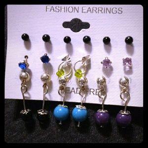 Set of Cute New Earrings